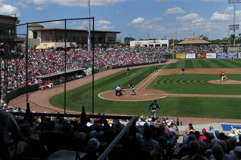 bright house field clearwater bright house field ball parks of the minor leagues littleballparks com