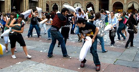 Pillow Fight With Strangers by The Ancient Of Pillow Fighting The Complete Rule Book