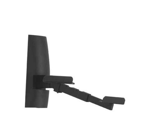 speaker wall mounts sanus adjustable speaker wall mount for bookshelf speakers