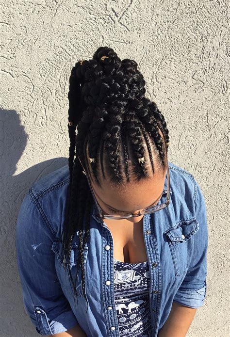 goddess braid in a ponytail goddess feedin braids ponytail sadesapphire