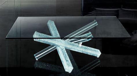 reflex tavoli in cristallo mikado di reflex angelo tavoli