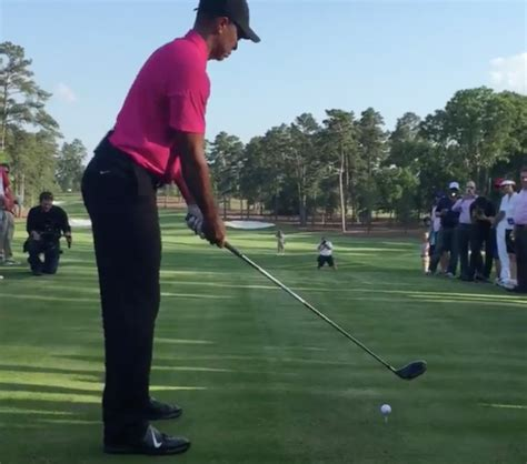 Must Watch Tiger Woods New Swing Unveiled Australian