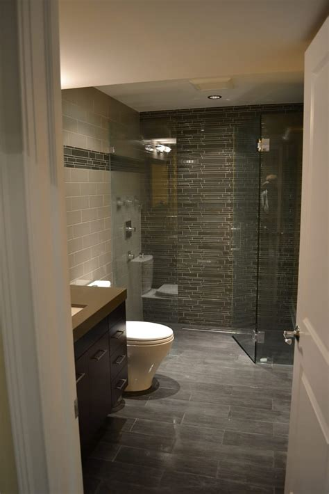 bathroom in the basement basement remodel east lakeview barts remodeling chicago il
