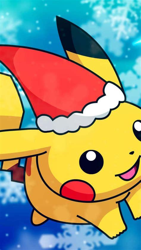 pikachu christmas wallpapers top  pikachu christmas backgrounds wallpaperaccess