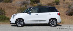 Fiat 500l 2014 Review Review 2014 Fiat 500l With 24 Cars Blue Sky