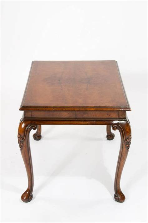 antique coffee table legs antique walnut coffee table on cabriole legs at 1stdibs