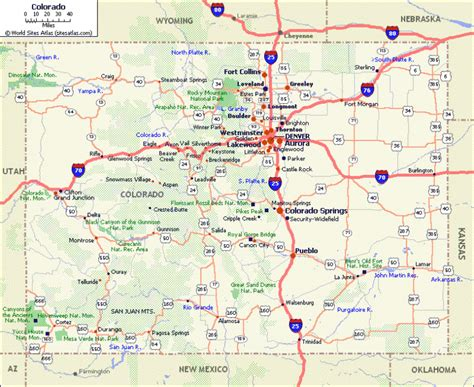 a map of colorado colorado mountain weather