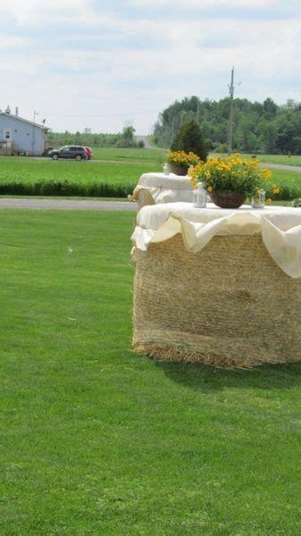 Rustic Country Garden Farm Wedding Decor for the dancing