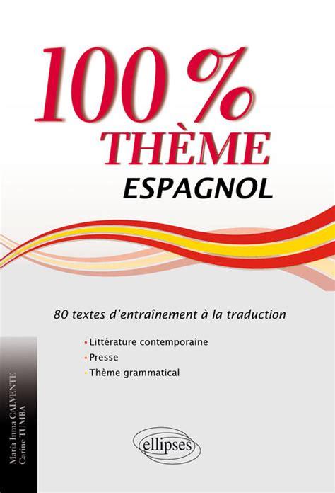 espagnol 100 thme l 233 gislation responsabilit 233 233 thique et d 233 ontologie organisation du travail sant 233 publique n