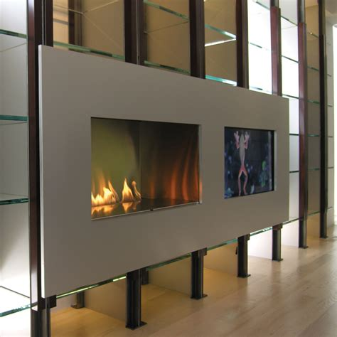 modern vent free fireplace ribbon vent free single vu spark modern fires