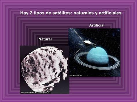 imagenes naturales y artificiales los satelites naturales