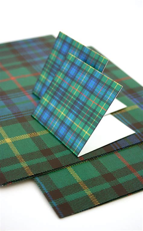 tartan gift wrap luxury scottish gift wrap and tags set by scotweb