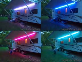 How To Put Up An Awning On A House Fun With Lights Spicing Up Your Camper With Led Lights