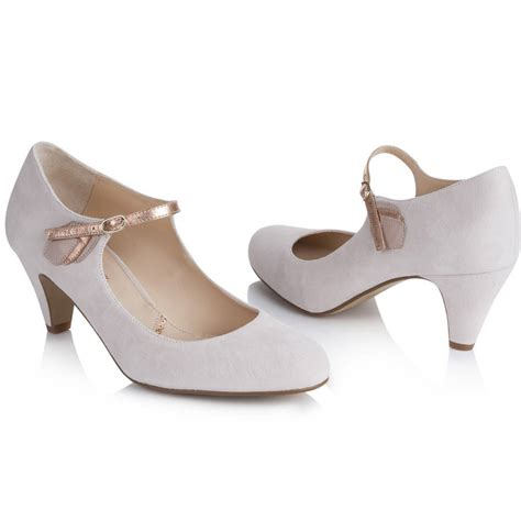 Wedding Shoes Janes by Wedding Shoe May Blush Ivory Suede By