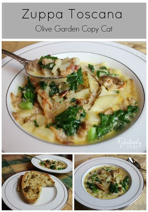Zuppa Toscana Olive Garden by Olive Garden Inspired Zuppa Toscana Soup