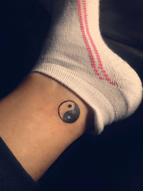 ying and yang foot tattoos 23 best images about yin yang on pinterest pisces