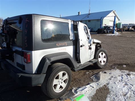 2010 Jeep Wrangler Parts 2010 Jeep Wrangler 2dr K14003 Tri City Auto Parts