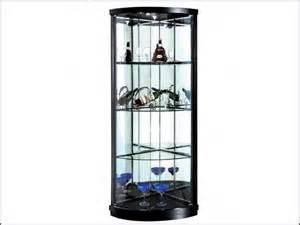 Corner Glass Display Cabinet Size Glass Corner Cabinets Display 16 With Glass Corner