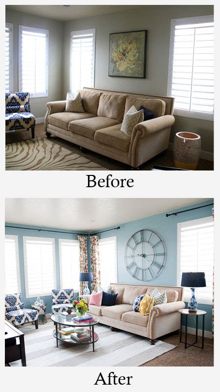 living room makeover living room makeovers on brown wood paneling makeover and room makeovers
