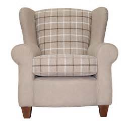 salcetti fabric wingback armchair next day delivery