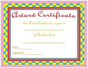 microsoft word award certificate template 8 award certificate template word bookletemplate org