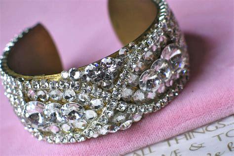 Handmade Bridal Accessories - bridal cuff bracelet handmade wedding accessories 13