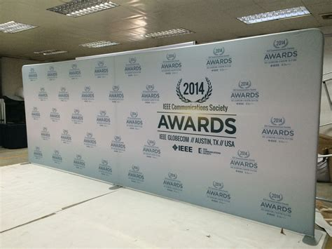 backdrop design exles step and repeat backdrop logo walls for red carpet events
