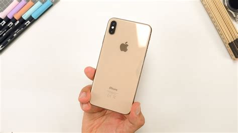 apple iphone xs max gold unboxing erster eindruck deutsch youtube