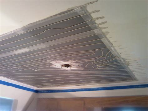 radiant heating ceiling radiant heat ceiling repair express plastering llc