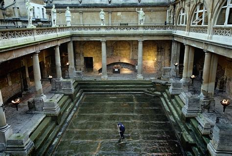 Ancient Roman House Floor Plan by Who S Pulled The Plug On The Roman Baths Daily Mail Online