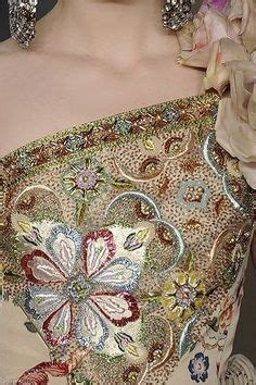 Guess Flower Cutting With Crysral Fm1821 fran 231 ois lesage m 233 tier brodeur on embroidery