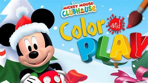 mickey mouse clubhouse christmas disney mickey mouse clubhouse clubhouse color play creative for
