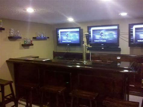 how to build an awesome bar in your basement 35 pics