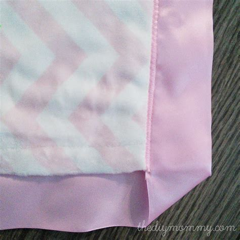 how to make a baby comforter how to sew a baby blanket with minky fabric and satin