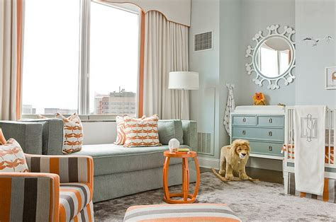 Orange Nursery Decor How To The Right Colors For A Modern Nursery Design Ideas Tips