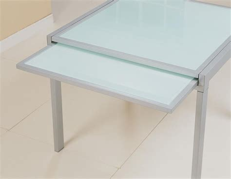 Frosted Glass Dining Table Frosted Glass Dining Table Tables Dining