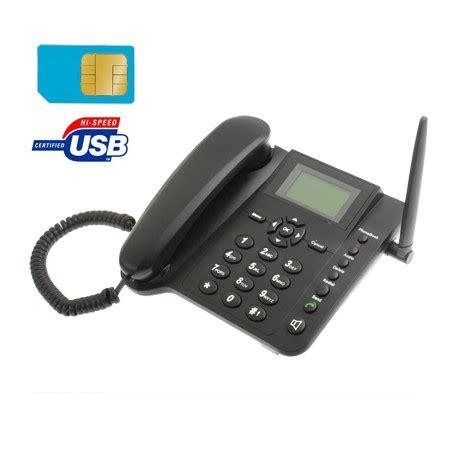 telefoni da tavolo con sim telefono fisso con sim gsm da tavolo casa ufficio anziani