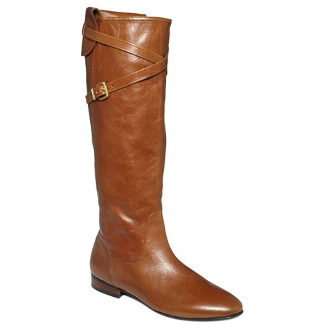 guess womens benate boots in brown brown leather