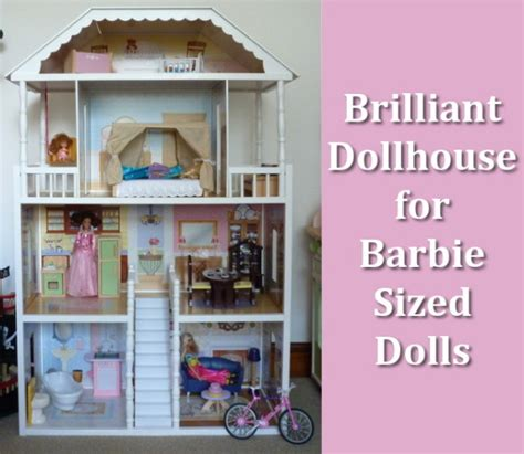 barbie sized doll house large dollhouses for barbie size dolls