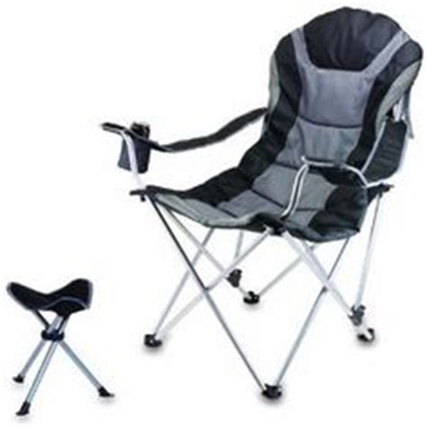 folding recliner chair with footrest 1000 images about cing chairs with footrest on
