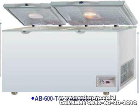 Freezer Box 600 Liter jual mesin pendingin makanan mesin chest freezer