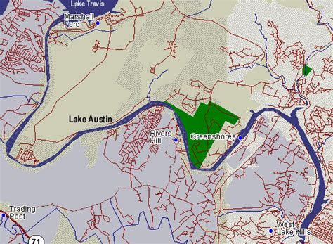 highland lakes texas map lake in the highland lakes of central texas