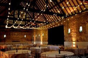 lada led indoor wedding festoon lights in a barn