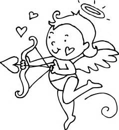 cupid coloring pages cupid coloring page free clip