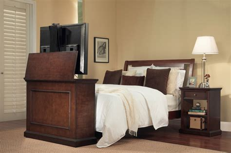 bedroom tv lift cabinet 6 ways to create a tranquil bedroom the soothing blog