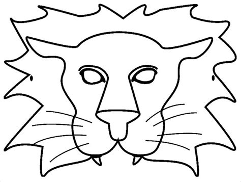 animal mask template animal templates free premium