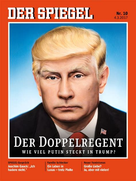 dekor spiegel spiegel put putin with s hair on cover spiegel put
