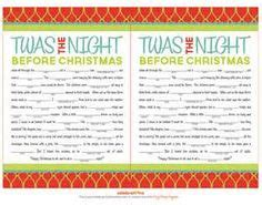 free printable elf mad libs mad libs holiday party games and elves on pinterest