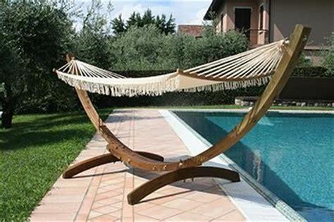 amaca in legno da giardino amaca in legno f12 con rete casa giardino arredo