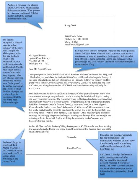 Inquiry Letter To Literary How To Write A Query Letter Upstart Literary